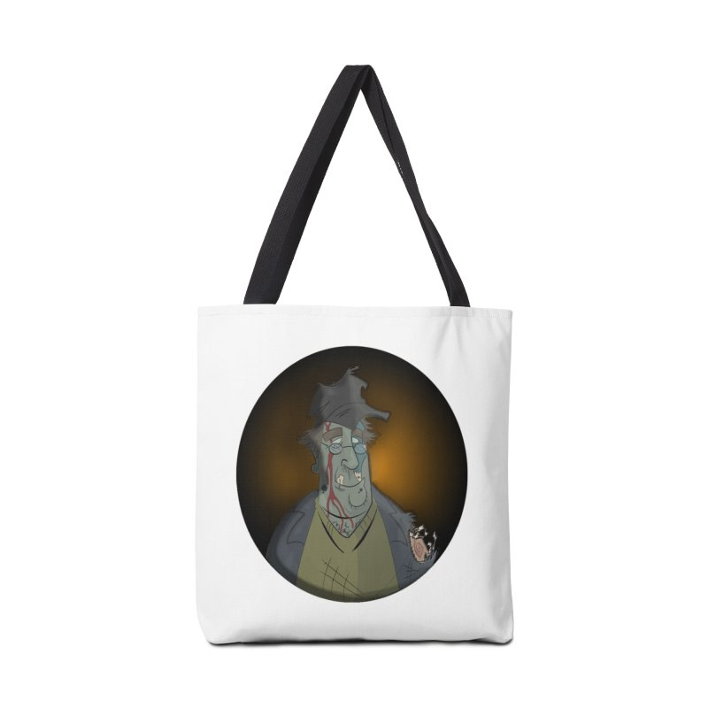 Zombie Author Accessories Bag by ClaytonArtistry's Artist Shop