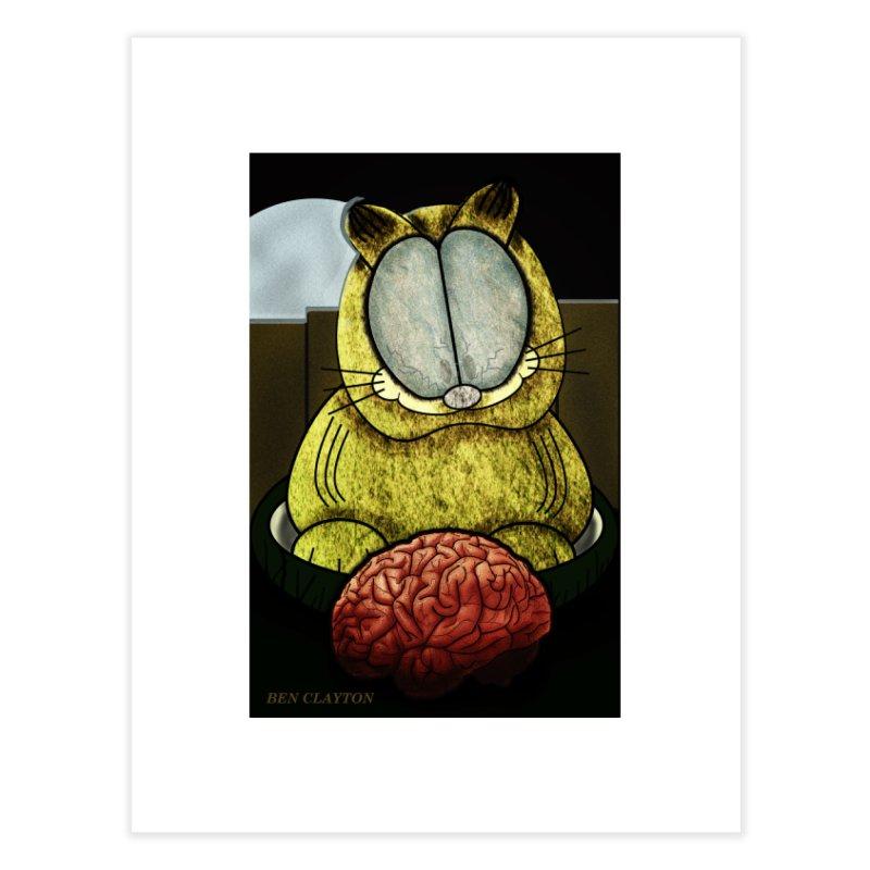 Zombie Cat Home Fine Art Print by ClaytonArtistry's Artist Shop