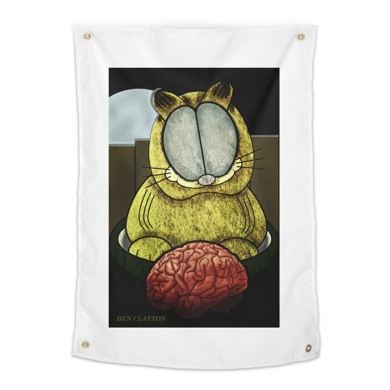 Zombie Cat Home Tapestry by ClaytonArtistry's Artist Shop