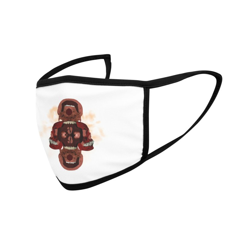 Smokey Skulls Accessories Face Mask by ClaytonArtistry's Artist Shop