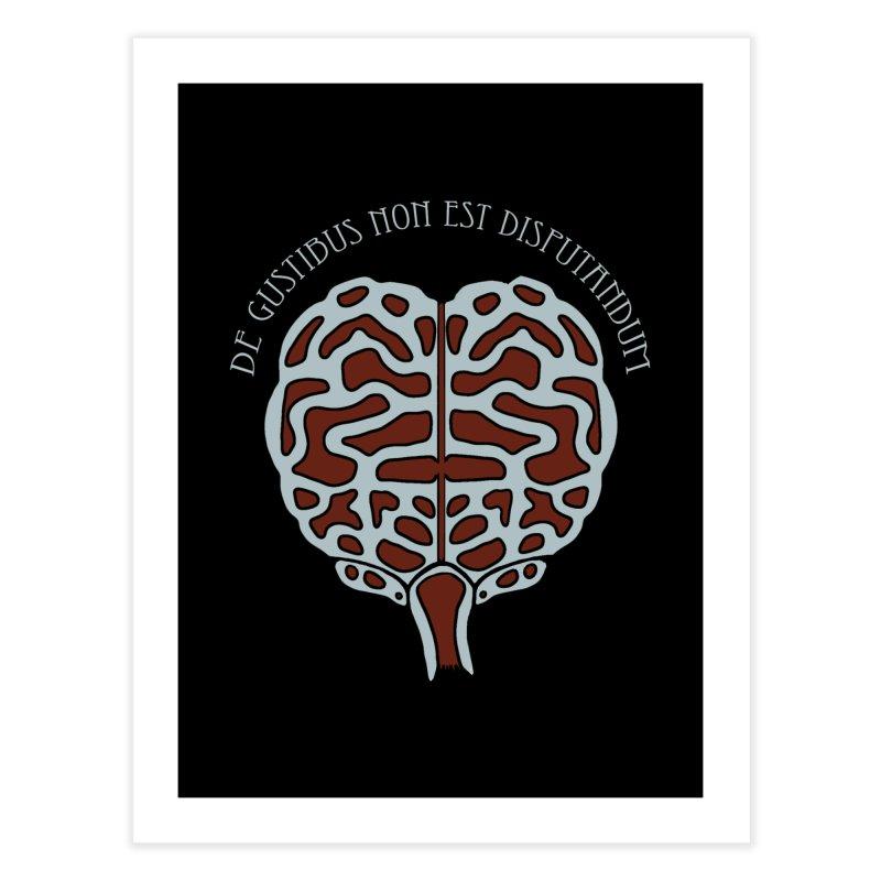 Latin Zombie Brain Home Fine Art Print by ClaytonArtistry's Artist Shop
