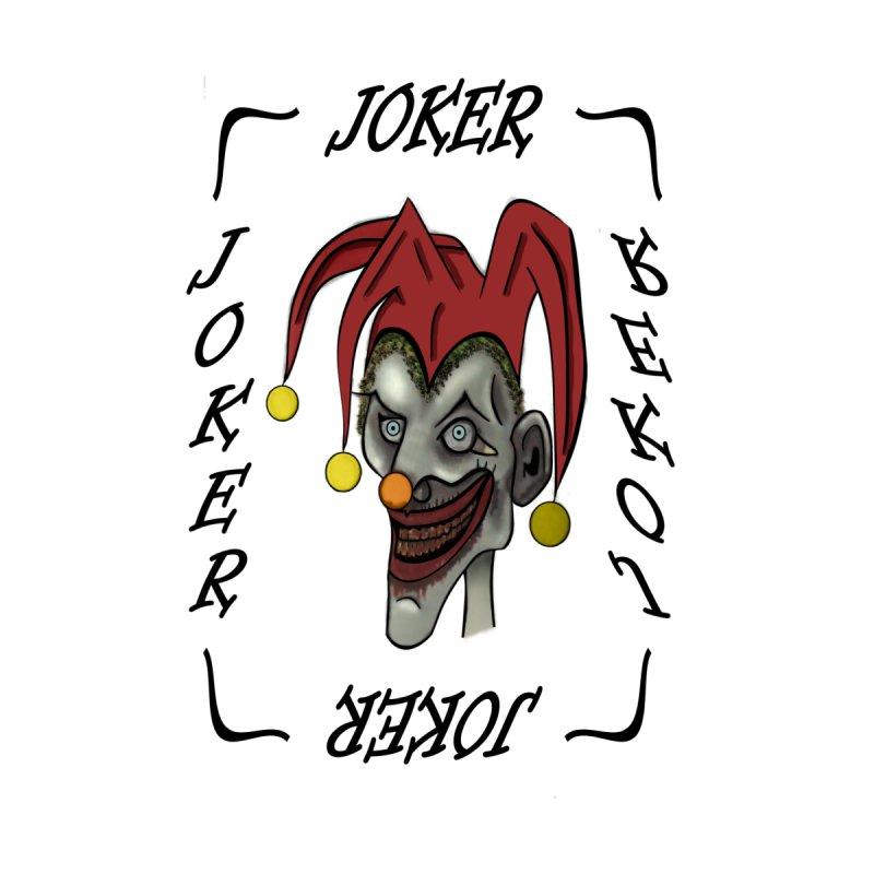 Zombie Joker Card Accessories Bag by ClaytonArtistry's Artist Shop