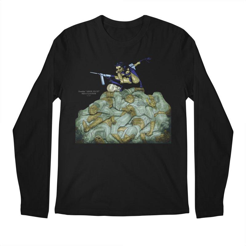 Zombie Aeon Flux Men's Longsleeve T-Shirt by ClaytonArtistry's Artist Shop