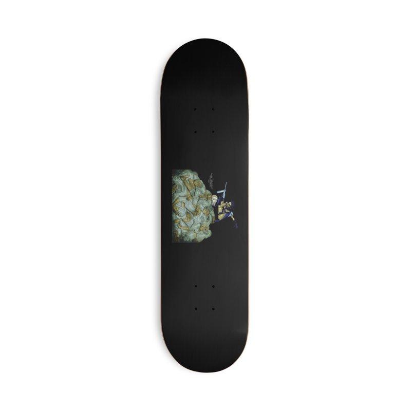 Zombie Aeon Flux Accessories Skateboard by ClaytonArtistry's Artist Shop