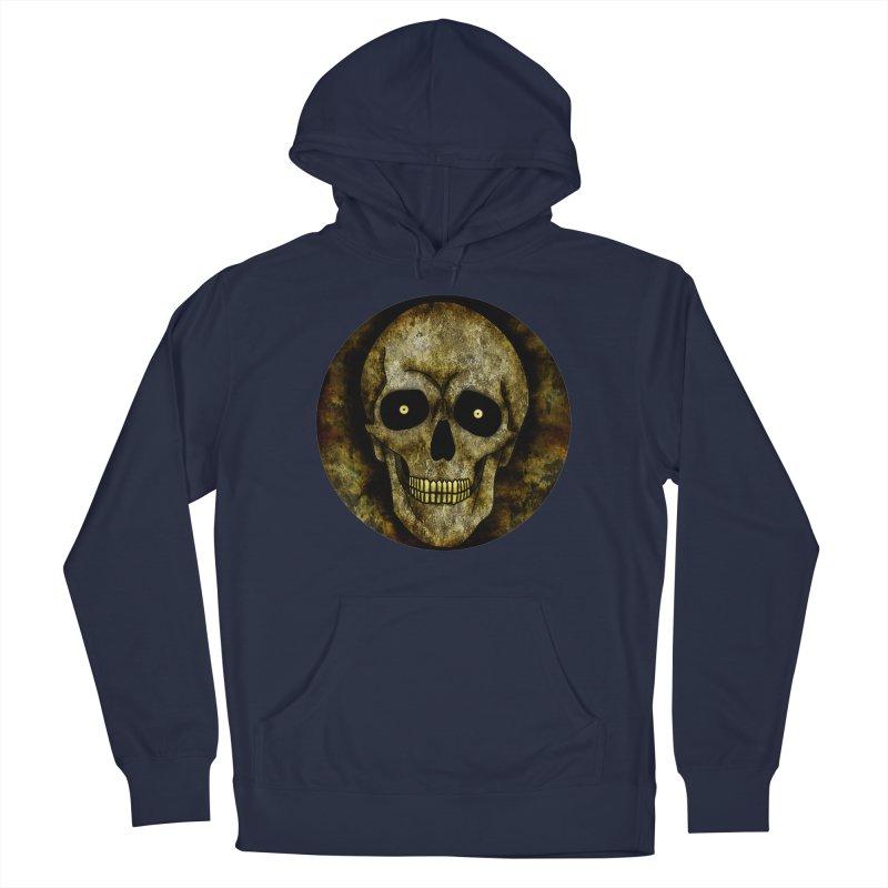 Posterized Grunge Skull Men's Pullover Hoody by ClaytonArtistry's Artist Shop