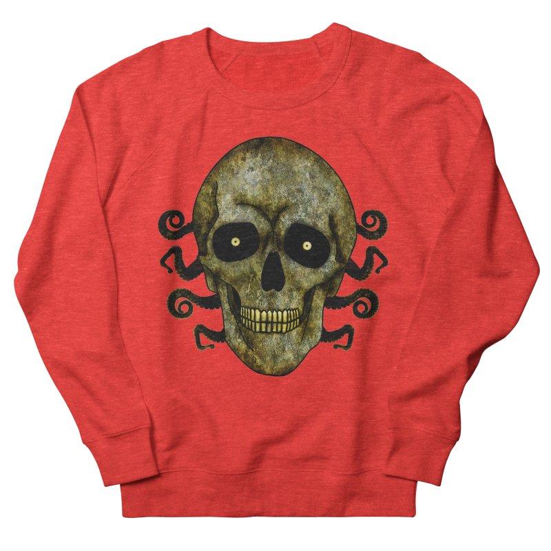 Posterized Grunge Skull 2 Men's Sweatshirt by ClaytonArtistry's Artist Shop