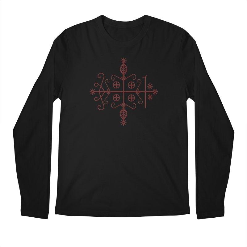 Papa Legba Symbol Men's Longsleeve T-Shirt by ClaytonArtistry's Artist Shop