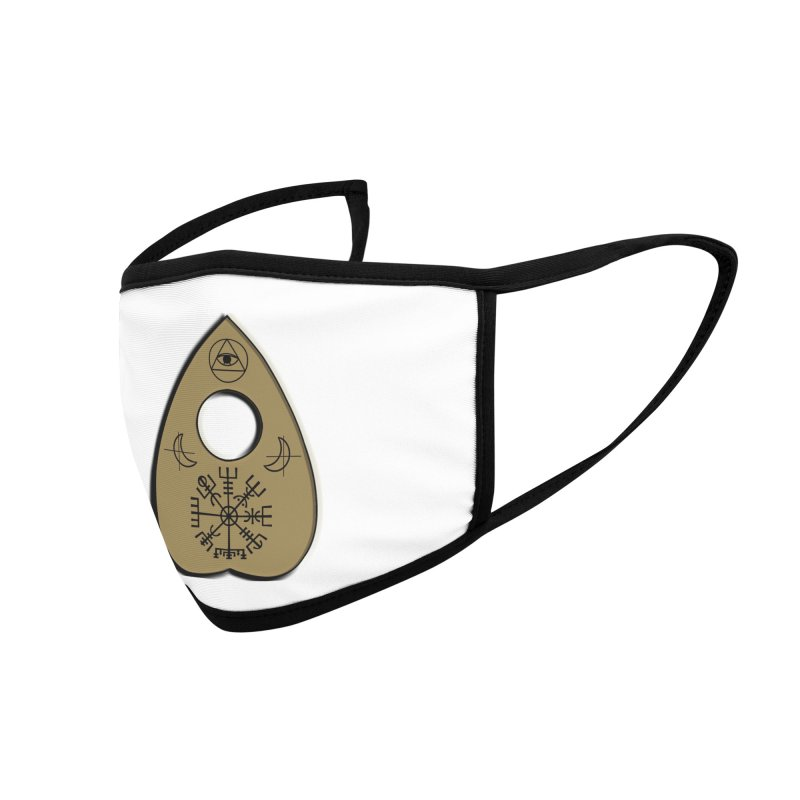 Ouiji Legba Planchette Accessories Face Mask by ClaytonArtistry's Artist Shop