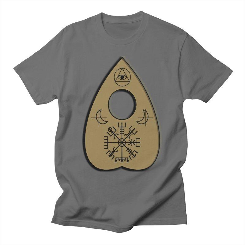 Ouiji Legba Planchette Men's T-Shirt by ClaytonArtistry's Artist Shop