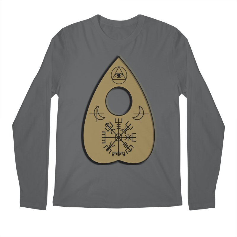 Ouiji Legba Planchette Men's Longsleeve T-Shirt by ClaytonArtistry's Artist Shop