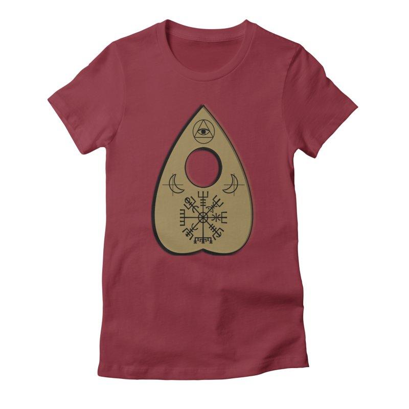 Ouiji Legba Planchette Women's T-Shirt by ClaytonArtistry's Artist Shop