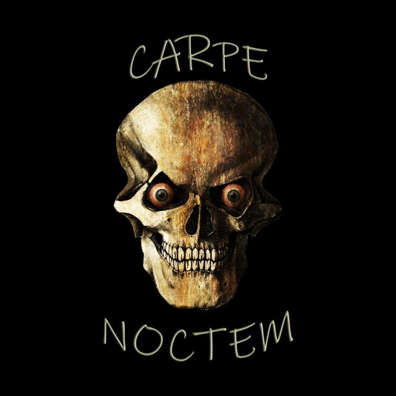 Carpe Noctem Accessories Neck Gaiter by ClaytonArtistry's Artist Shop