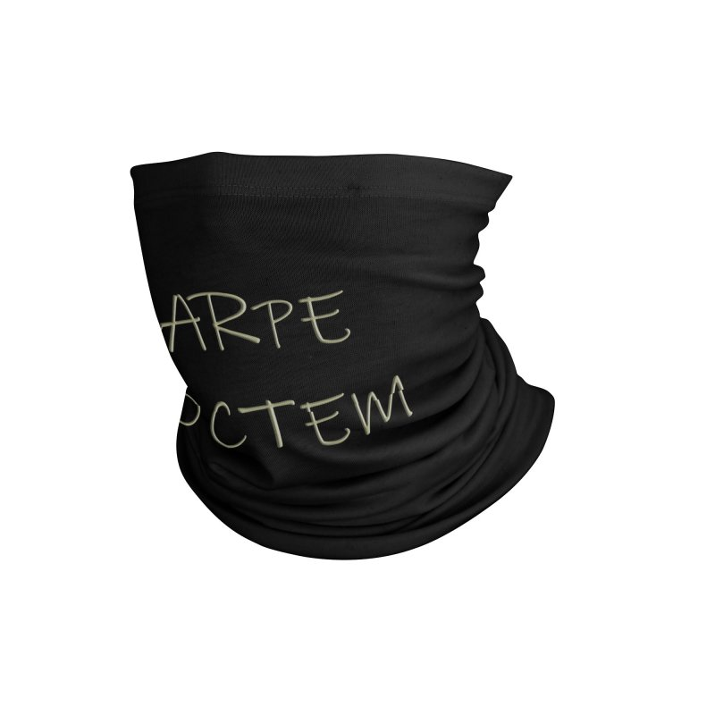 Carpe Noctem Accessories Neck Gaiter by ClaytonArtistry's Artist Shop
