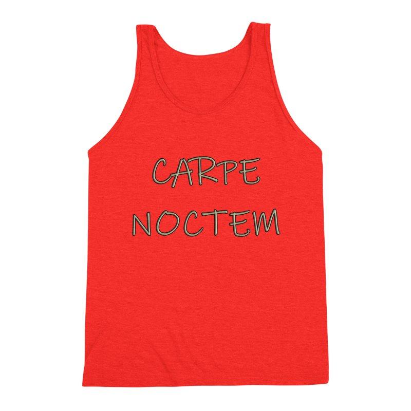 Carpe Noctem Men's Tank by ClaytonArtistry's Artist Shop