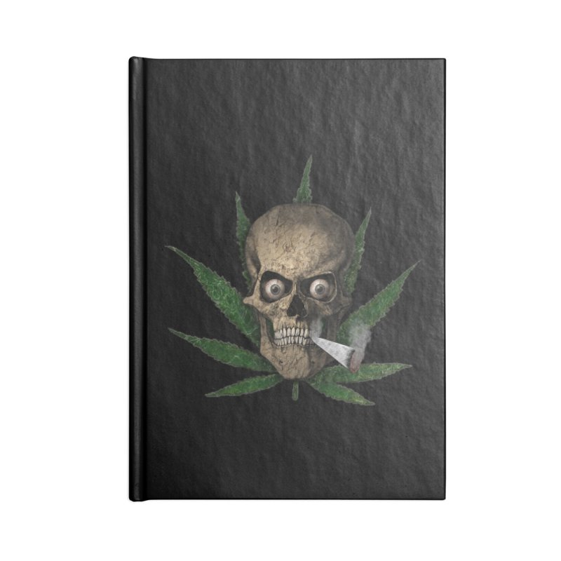 Smoke Time Accessories Notebook by ClaytonArtistry's Artist Shop