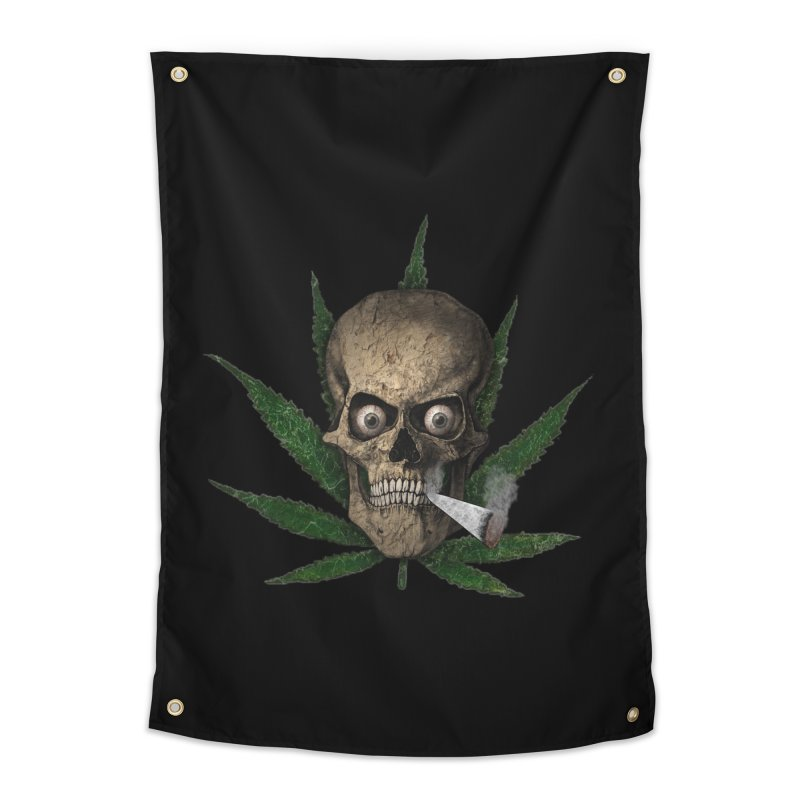Smoke Time Home Tapestry by ClaytonArtistry's Artist Shop