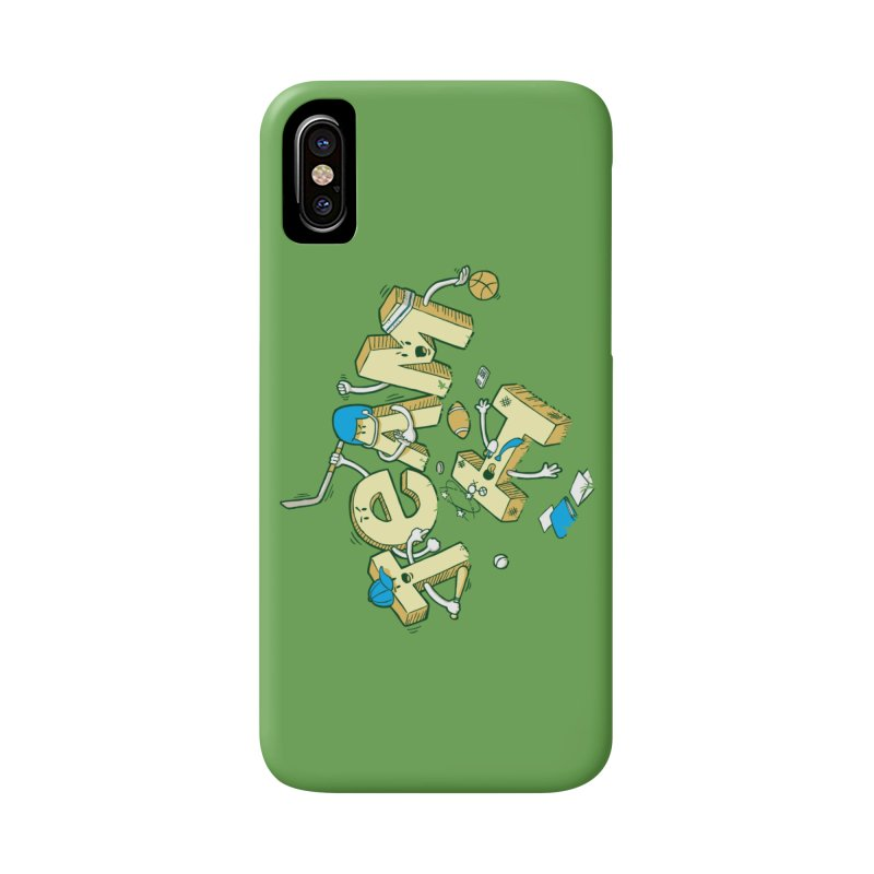 There's no 'I' in team Accessories Phone Case by Claytondixon's Artist Shop