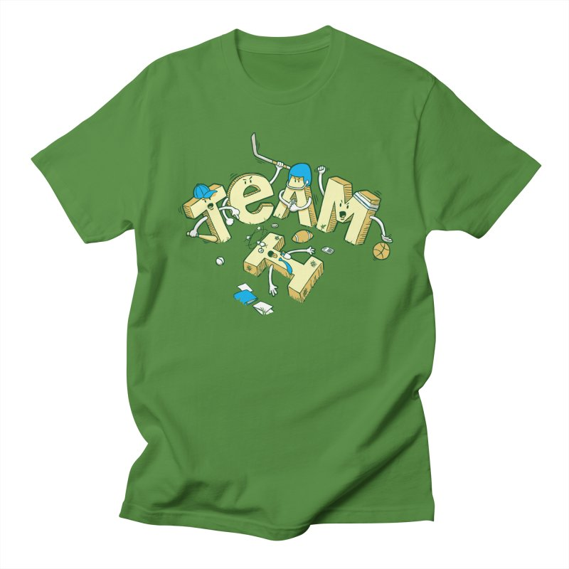 There's no 'I' in team Women's Unisex T-Shirt by Claytondixon's Artist Shop