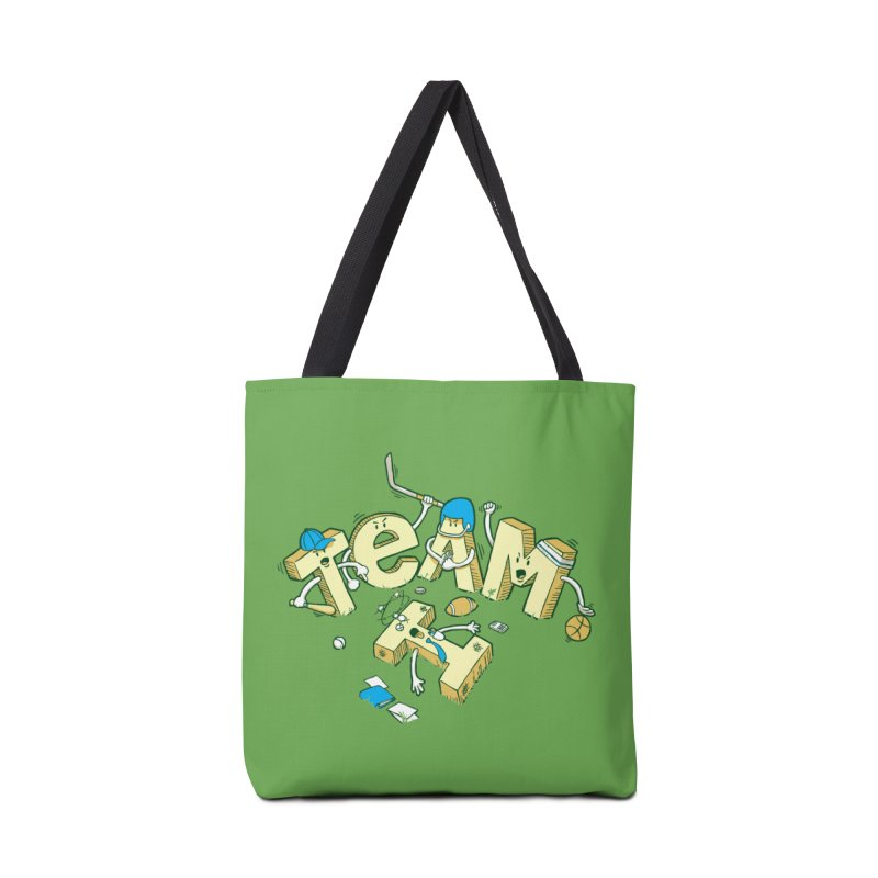 There's no 'I' in team Accessories Bag by Claytondixon's Artist Shop