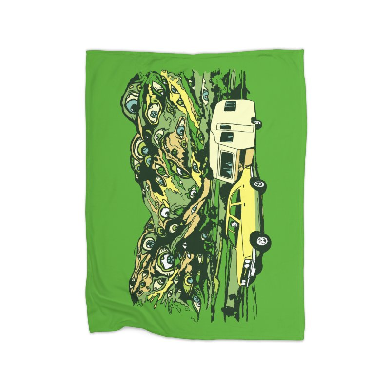 The Hills Have Eyes Home Fleece Blanket Blanket by Claytondixon's Artist Shop