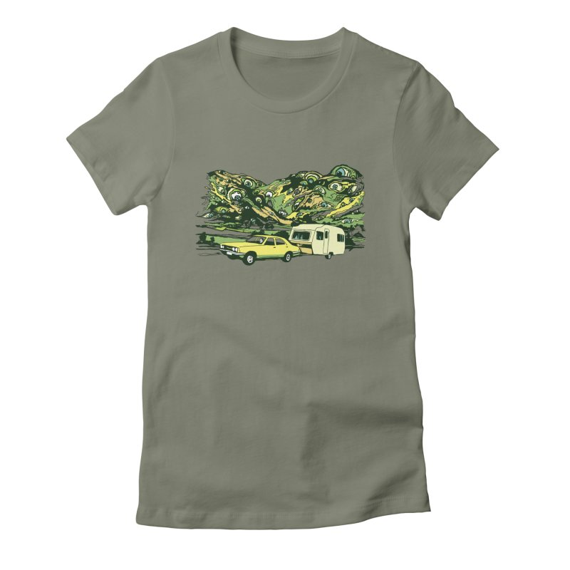 The Hills Have Eyes Women's T-Shirt by Claytondixon's Artist Shop