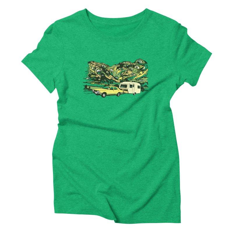 The Hills Have Eyes Women's T-Shirt by Claytondixon's Artist Shop
