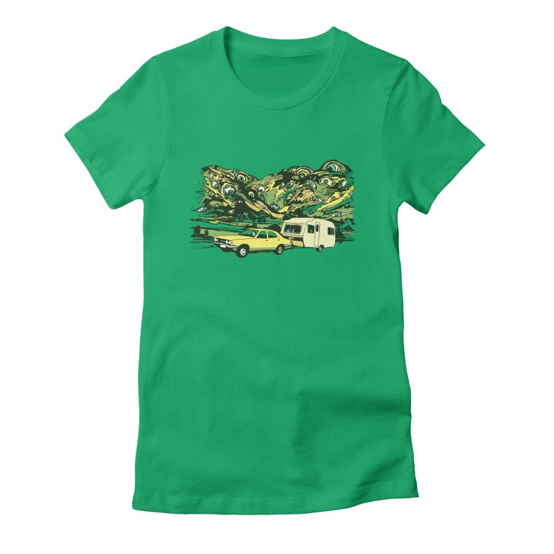 The Hills Have Eyes Women's Fitted T-Shirt by Claytondixon's Artist Shop