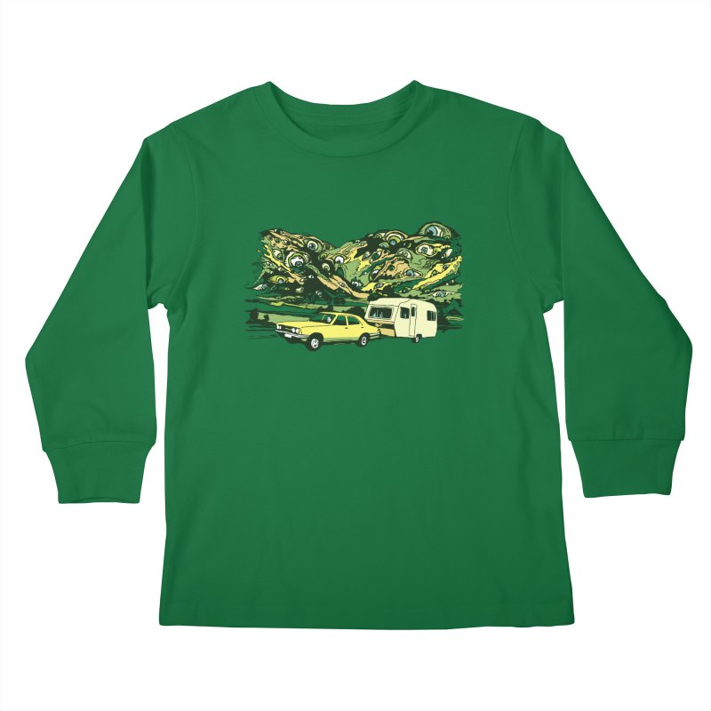 The Hills Have Eyes Kids Longsleeve T-Shirt by Claytondixon's Artist Shop