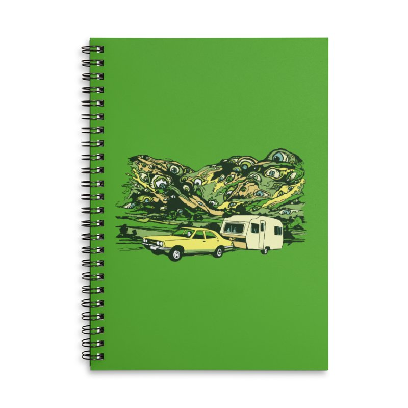 The Hills Have Eyes Accessories Lined Spiral Notebook by Claytondixon's Artist Shop