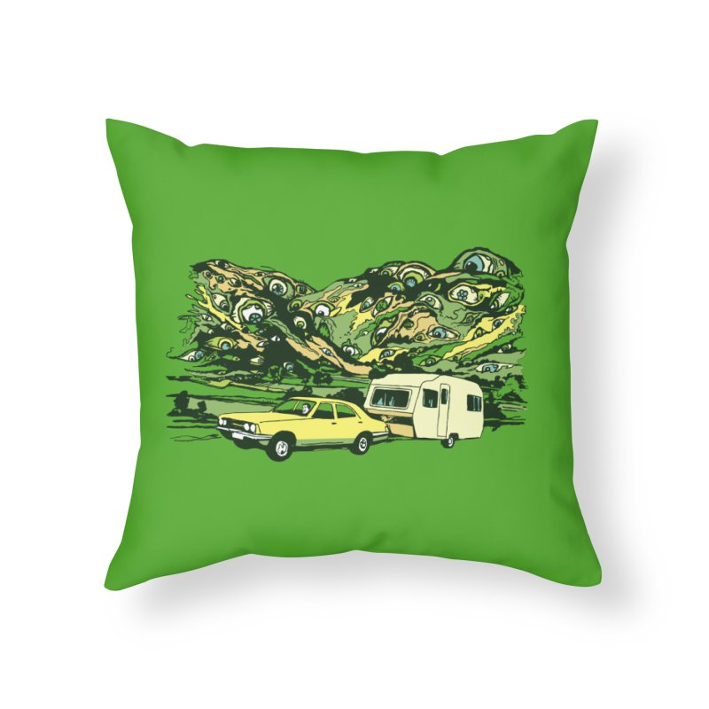 The Hills Have Eyes Home Throw Pillow by Claytondixon's Artist Shop