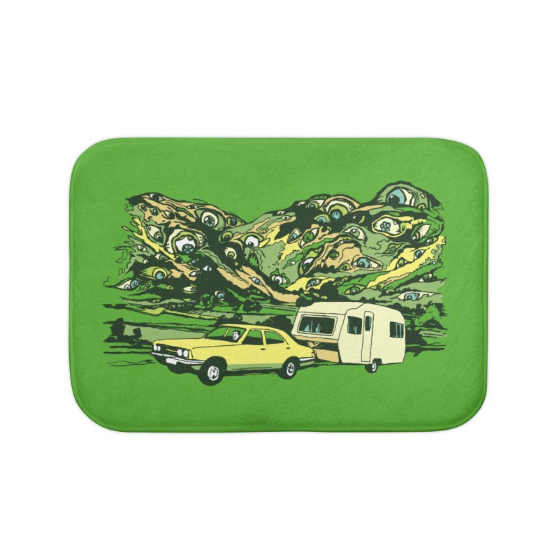 The Hills Have Eyes Home Bath Mat by Claytondixon's Artist Shop