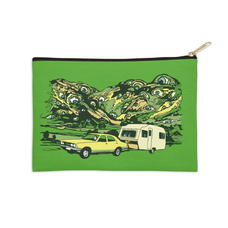 The Hills Have Eyes Accessories Zip Pouch by Claytondixon's Artist Shop