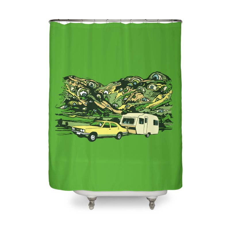 The Hills Have Eyes Home Shower Curtain by Claytondixon's Artist Shop