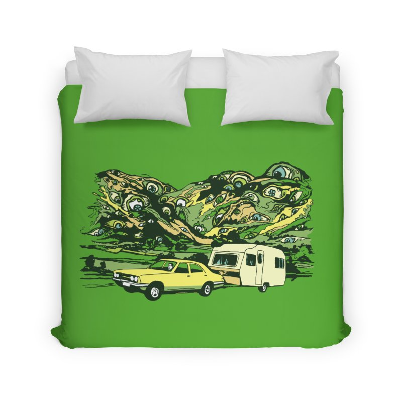 The Hills Have Eyes Home Duvet by Claytondixon's Artist Shop