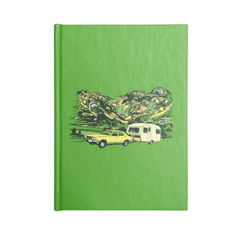 The Hills Have Eyes Accessories Lined Journal Notebook by Claytondixon's Artist Shop