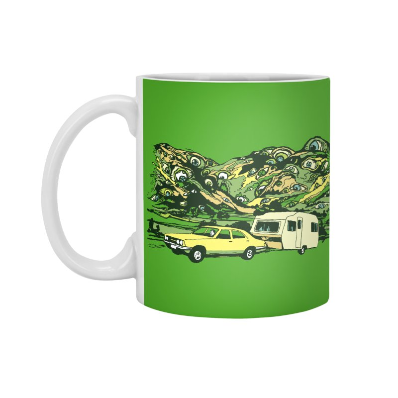 The Hills Have Eyes Accessories Standard Mug by Claytondixon's Artist Shop