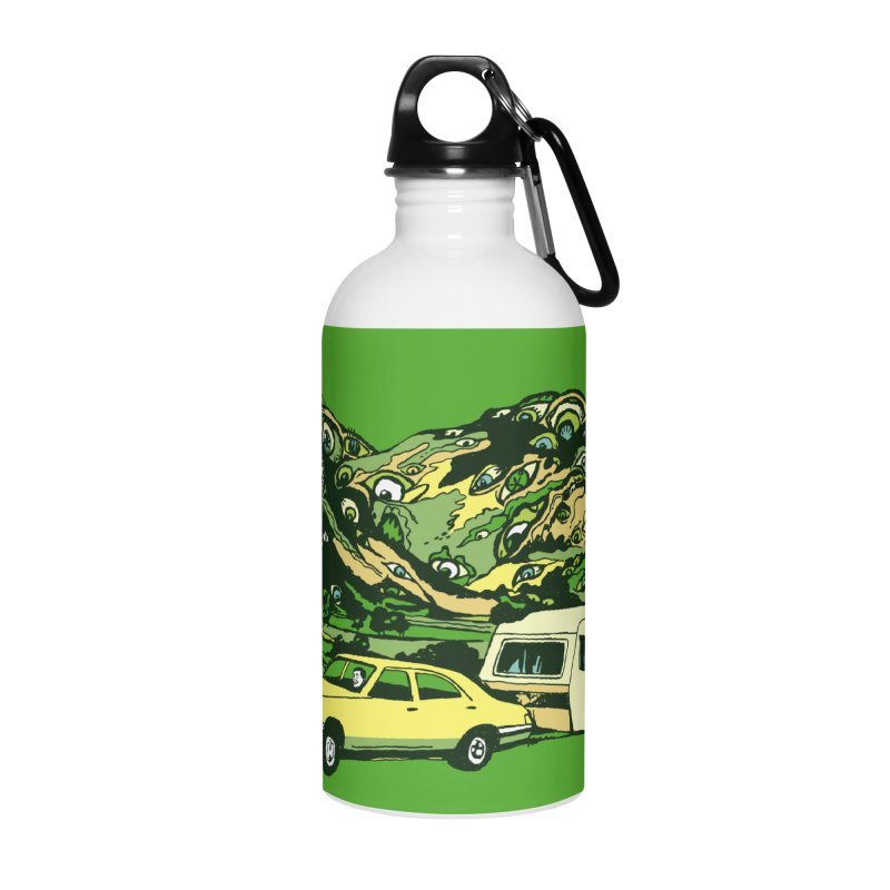 The Hills Have Eyes Accessories Water Bottle by Claytondixon's Artist Shop
