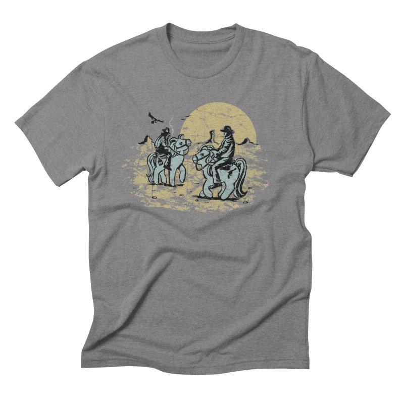 Ma Lil Outlaws Men's Triblend T-shirt by Claytondixon's Artist Shop