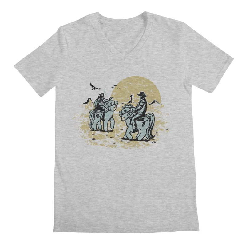 Ma Lil Outlaws Men's Regular V-Neck by Claytondixon's Artist Shop