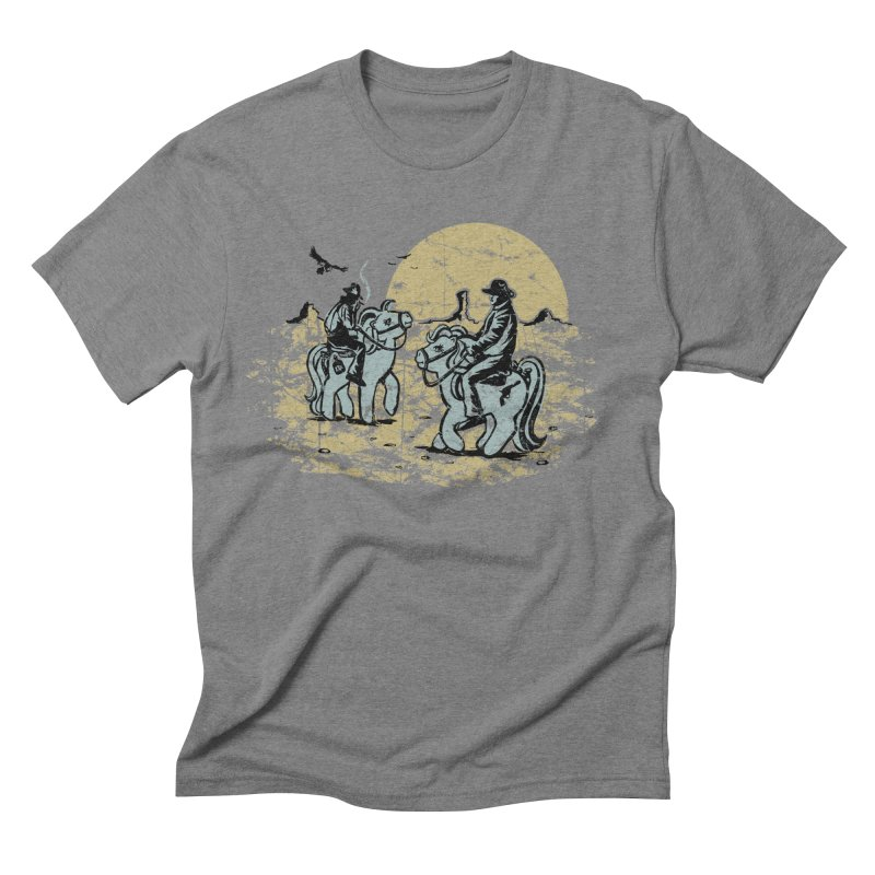 Ma Lil Outlaws Men's Triblend T-shirt by Claytondixon's Artist Shop