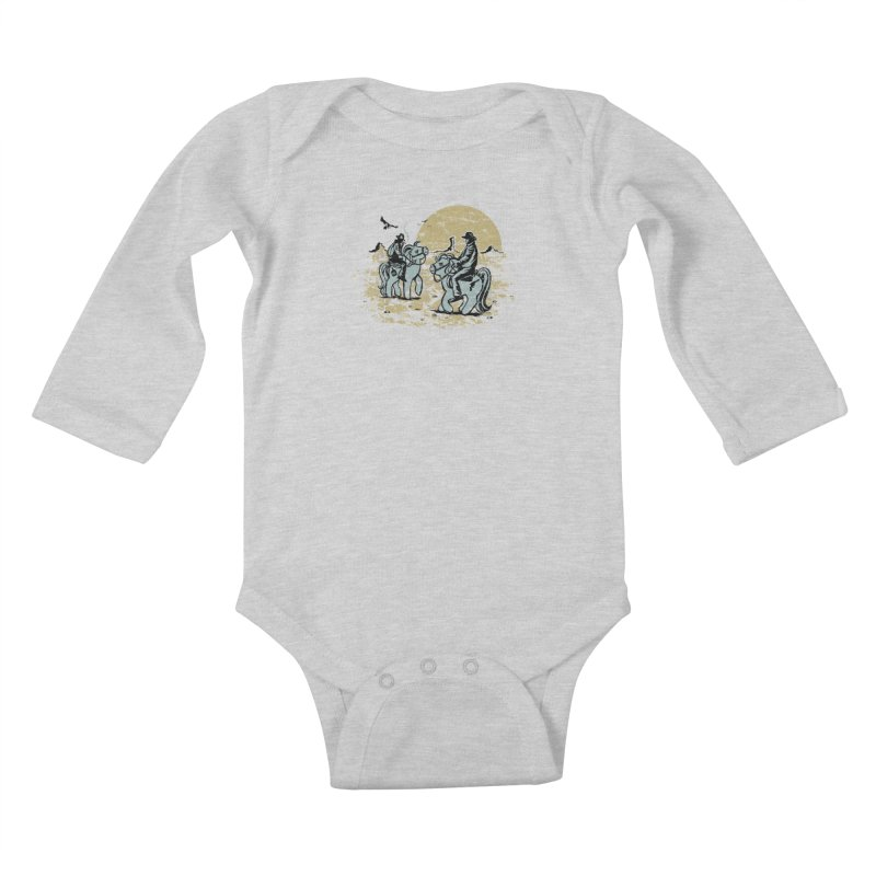 Ma Lil Outlaws Kids Baby Longsleeve Bodysuit by Claytondixon's Artist Shop