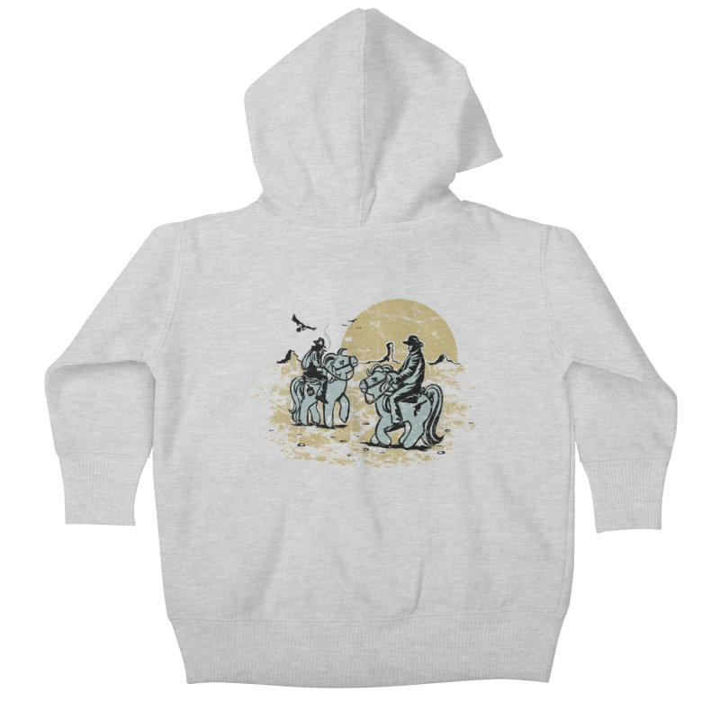 Ma Lil Outlaws Kids Baby Zip-Up Hoody by Claytondixon's Artist Shop