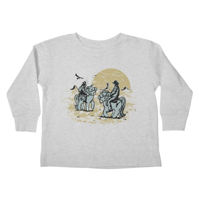 Ma Lil Outlaws Kids Toddler Longsleeve T-Shirt by Claytondixon's Artist Shop