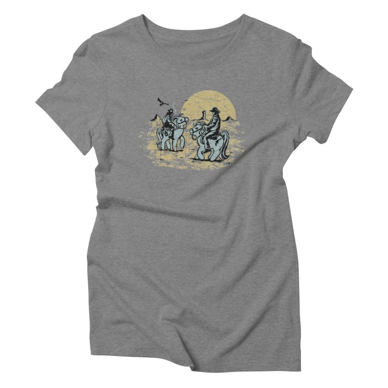 Ma Lil Outlaws Women's T-Shirt by Claytondixon's Artist Shop