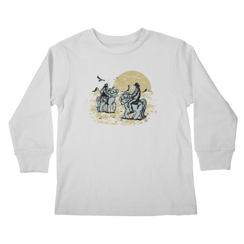 Ma Lil Outlaws Kids Longsleeve T-Shirt by Claytondixon's Artist Shop
