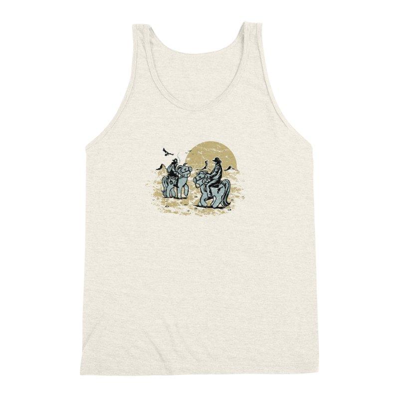 Ma Lil Outlaws Men's Triblend Tank by Claytondixon's Artist Shop