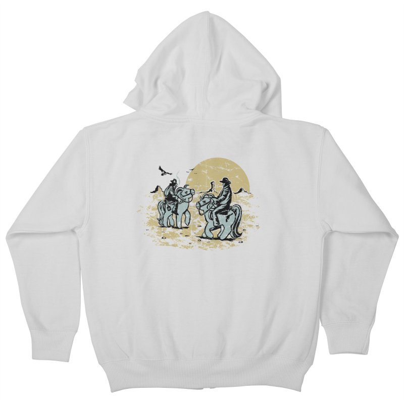 Ma Lil Outlaws Kids Zip-Up Hoody by Claytondixon's Artist Shop