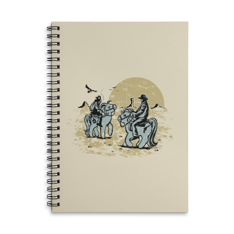 Ma Lil Outlaws Accessories Lined Spiral Notebook by Claytondixon's Artist Shop