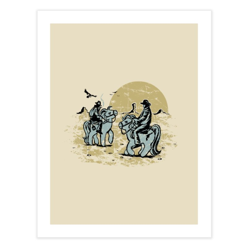Ma Lil Outlaws Home Fine Art Print by Claytondixon's Artist Shop