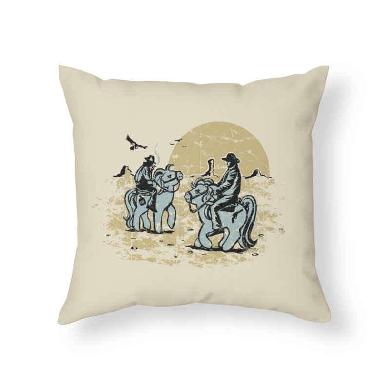 Ma Lil Outlaws Home Throw Pillow by Claytondixon's Artist Shop